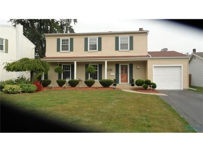 Maumee Single Family Home Contingent: 649 McIntyre Lane