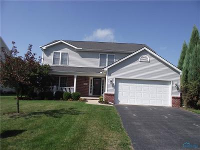 Maumee Single Family Home Contingent: 4202 Ranchers Circle