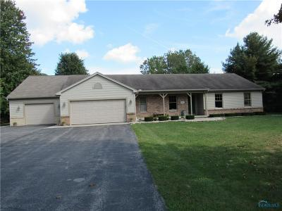 Swanton Single Family Home For Sale: 4835 S Fulton Lucas Road