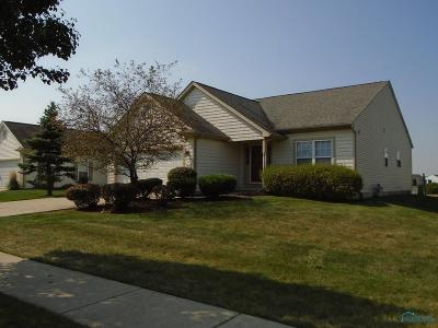 Maumee Single Family Home For Sale: 4836 Waterbury Lane