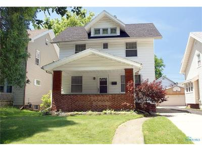 Toledo OH Single Family Home For Sale: $45,000