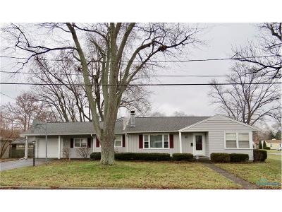 Toledo OH Single Family Home For Sale: $115,000