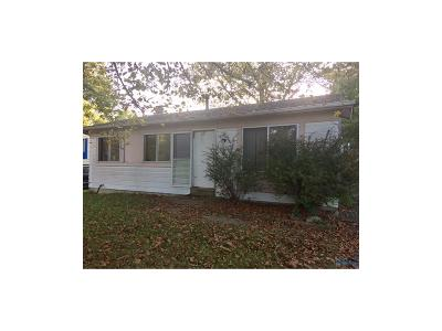 Toledo OH Single Family Home For Sale: $6,900