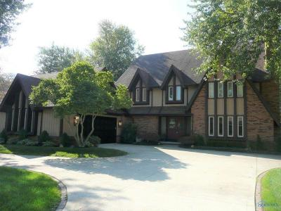 Maumee Single Family Home Contingent: 6115 W Wyandotte Road