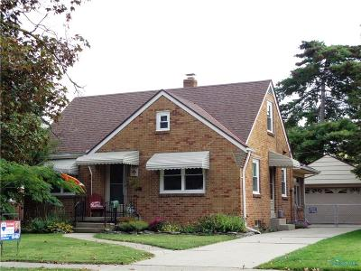 Toledo OH Single Family Home For Sale: $105,000