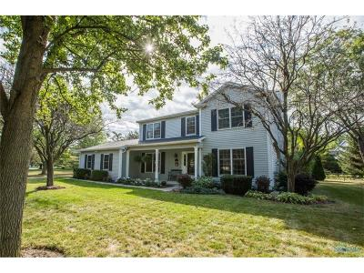 Perrysburg Single Family Home Contingent: 850 Whitehall Drive