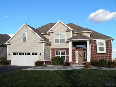 Perrysburg Single Family Home Contingent: 4387 Morgan Place