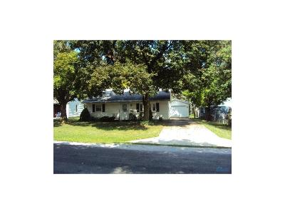 Bryan OH Single Family Home For Sale: $90,000