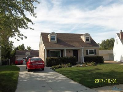 Rossford Single Family Home Contingent: 540 Bruns Drive
