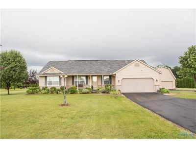 Ottawa Hills, Monclova, Oregon, Rossford, Swanton, Berkey, Metamora, Lyons, Whitehouse, Waterville Single Family Home For Sale: 9614 Berkey Southern Road