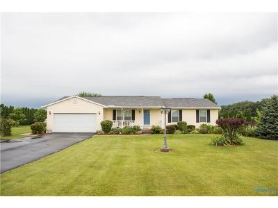 Ottawa Hills, Monclova, Oregon, Rossford, Swanton, Berkey, Metamora, Lyons, Whitehouse, Waterville Single Family Home For Sale: 9638 S Berkey Southern Road