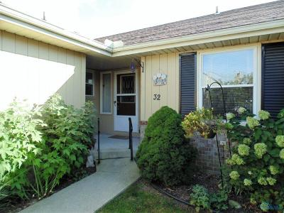 Maumee Condo/Townhouse Contingent: 32 Homestead Place #32