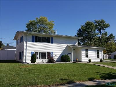 Maumee Single Family Home For Sale: 1266 Kirk Street