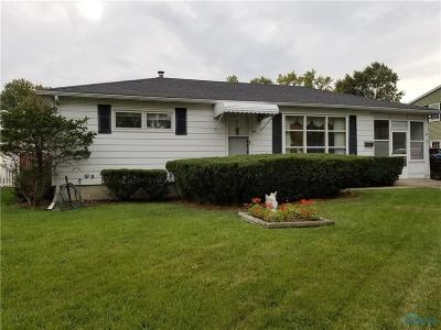 Maumee Single Family Home Contingent: 813 Phillips Street