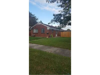 Toledo OH Single Family Home Contingent: $34,900