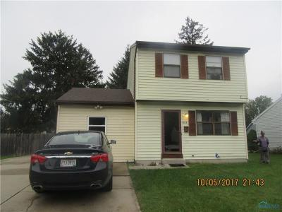 Toledo OH Single Family Home For Sale: $56,500