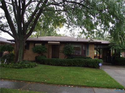Maumee Single Family Home For Sale: 1215 Kirk Street