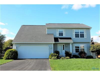 Perrysburg Single Family Home For Sale: 26611 Basswood Drive