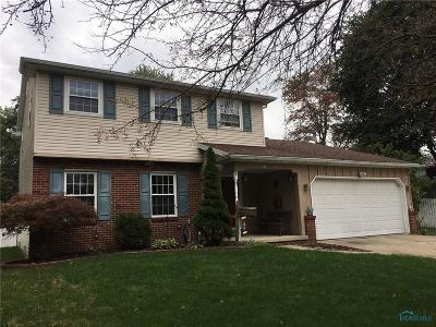 Toledo Single Family Home Contingent: 6178 Larchway Road