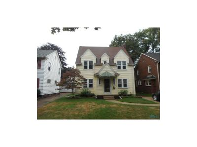 Toledo OH Single Family Home For Sale: $72,500