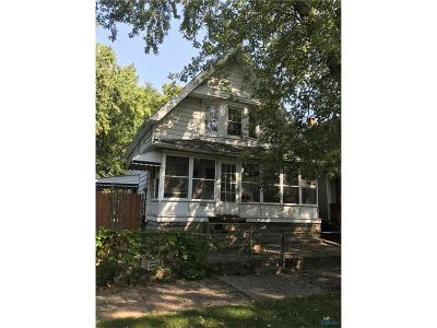 Toledo OH Single Family Home For Sale: $225,000