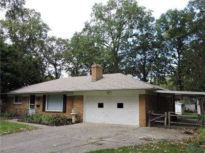 Toledo OH Single Family Home For Sale: $104,000