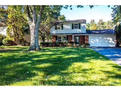 Toledo Single Family Home For Sale: 4923 Whiteford Road