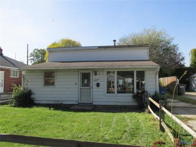 Toledo OH Single Family Home For Sale: $40,800