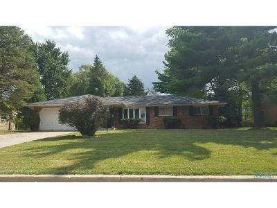Toledo OH Single Family Home For Sale: $61,400