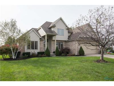 Perrysburg Single Family Home Contingent: 2160 Old Trail Road