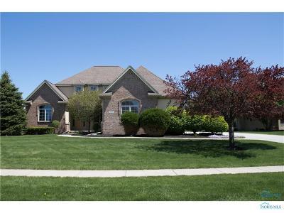 Monclova Single Family Home For Sale: 5815 Sherwood Circle