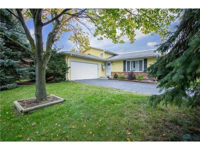 Maumee Single Family Home For Sale: 1800 Cass Road