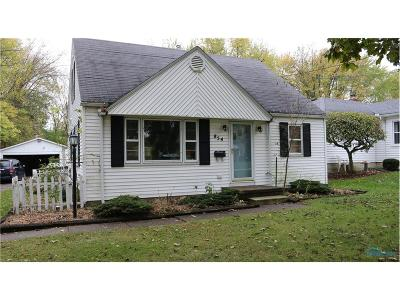 Perrysburg Single Family Home Contingent: 854 Hickory Street