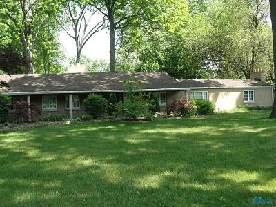 Toledo Single Family Home For Sale: 4028 W Laskey Road