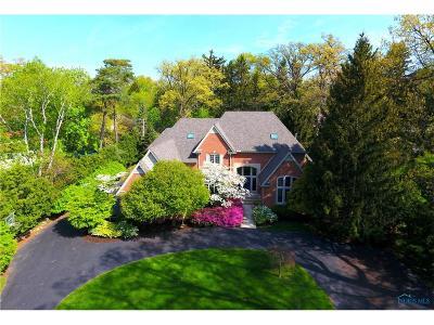 Ottawa Hills, Monclova, Oregon, Rossford, Swanton, Berkey, Metamora, Lyons, Whitehouse, Waterville Single Family Home For Sale: 4436 Miner Road