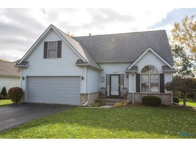 Perrysburg Single Family Home Contingent: 7265 Twin Lakes Road
