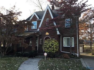 Toledo OH Single Family Home For Sale: $117,500