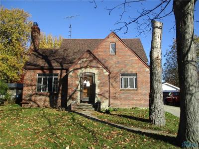 Toledo OH Single Family Home For Sale: $88,900