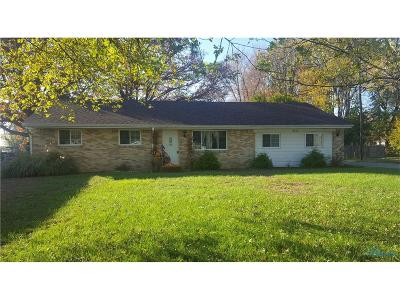 Sylvania Single Family Home For Sale: 5637 Webster Road