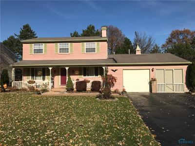 Maumee Single Family Home For Sale: 2047 Kellerston Road