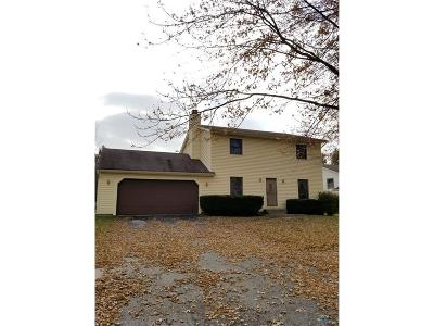 Perrysburg Single Family Home For Sale: 9577 Millcroft Road