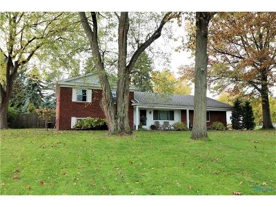 Perrysburg Single Family Home For Sale: 218 Cranden Drive