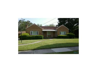 Toledo Single Family Home For Sale: 1550 Booth Avenue