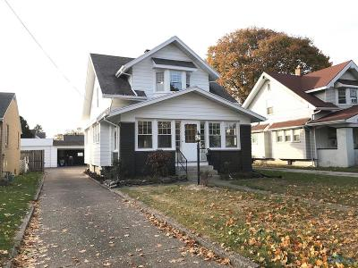 Rossford Single Family Home For Sale: 115 Hannum Avenue