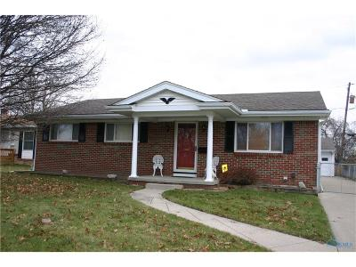 Toledo Single Family Home For Sale: 6112 Rolland Drive