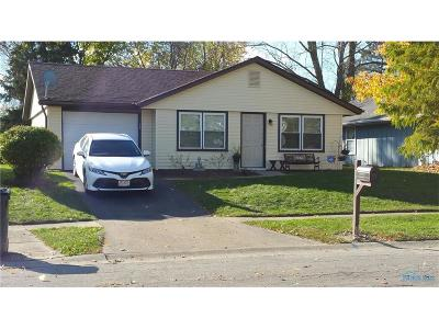 Toledo Single Family Home For Sale: 3519 Willow Run Drive