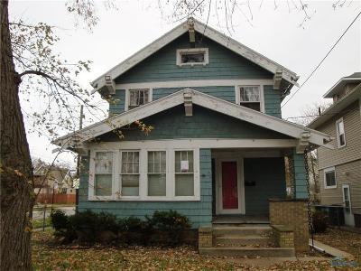 Toledo Single Family Home For Sale: 3726 Hoiles Avenue