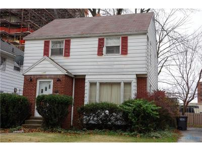 Toledo Single Family Home For Sale: 2707 Winsted Drive
