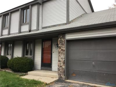 Toledo OH Condo/Townhouse For Sale: $60,000