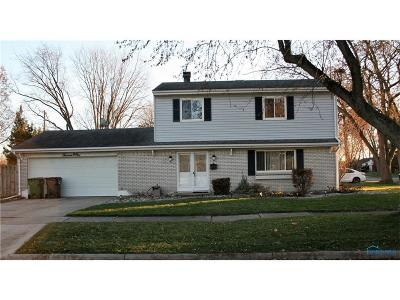 Maumee Single Family Home For Sale: 1301 Gettysburg Drive